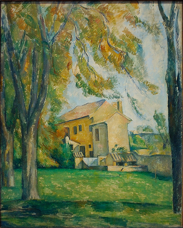 Cezanne_Farmhouse_andChestnutTrees_1344