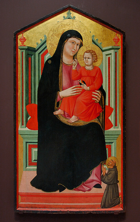 Madonna_andChild_Enthroned_StFrancis_3499