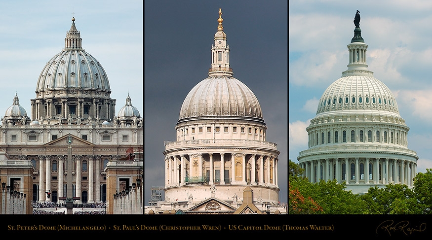 StPeters_StPauls_US_Capitol_Domes