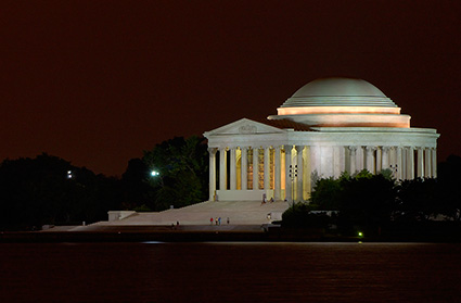 JeffersonMemorial_atNight_2869