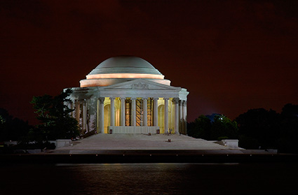 JeffersonMemorial_atNight_2876