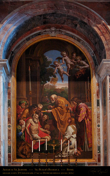 Altar_StJerome_Cristofari_Domenichino_7605M