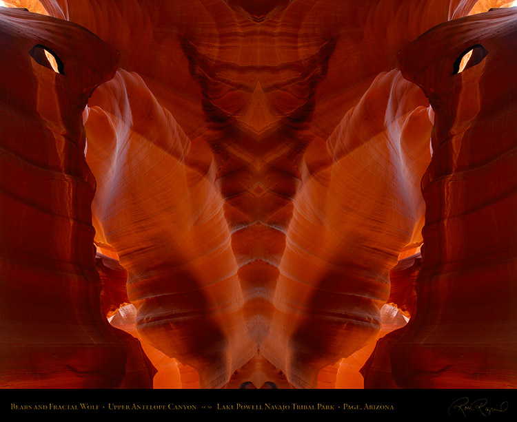 Antelope_Canyon_Bears_and_Fractal_Wolf_X2531M