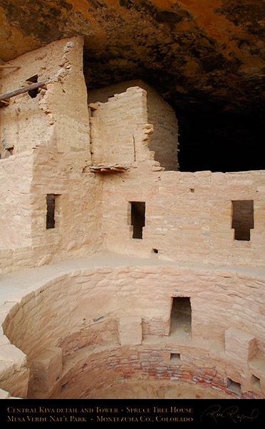 Mesa_Verde_Spruce_Tree_House_Central_Kiva_X9780