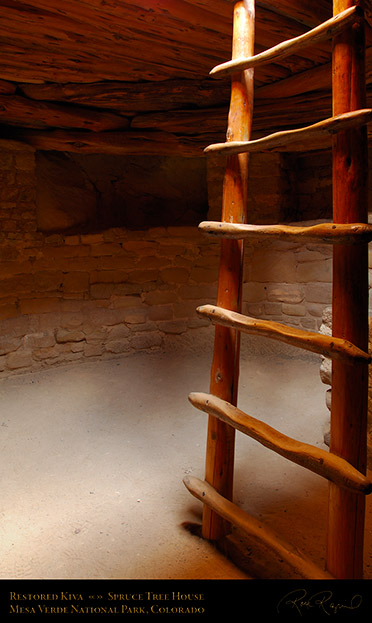 Mesa_Verde_Spruce_Tree_House_Restored_Kiva_X9804