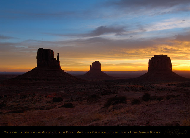 Monument_Valley_Dawn_Mittens_and_Merrick_Butte_X9916