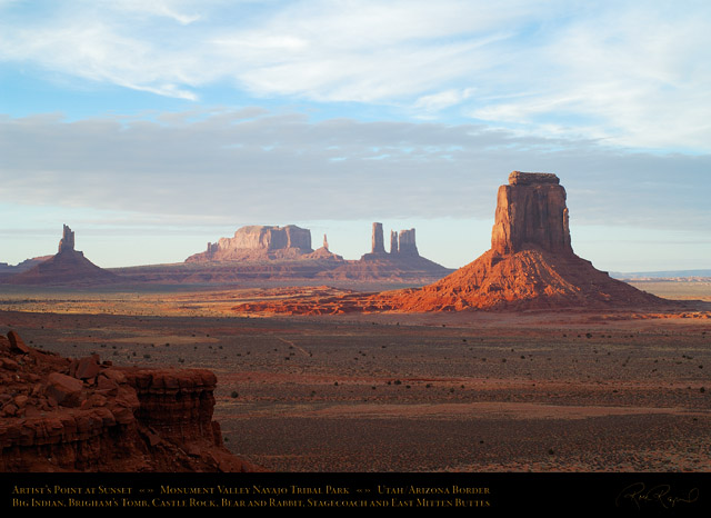 Monument_Valley_Sunset_Artist's_Point_X1658