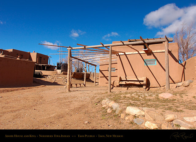 Taos_Pueblo_Adobe_House_and_Kiva_HS6597