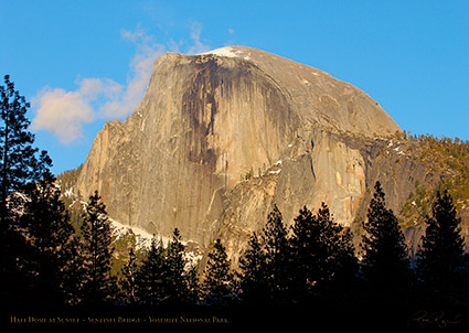 Half_Dome_at_Sunset_Sentinel_Bridge_2307