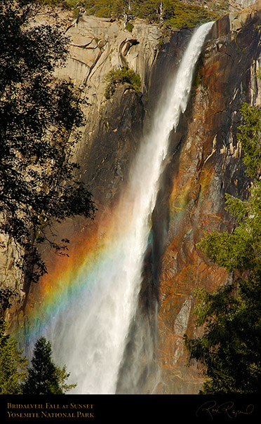 Bridalveil_Fall_Sunset_Rainbow_3895