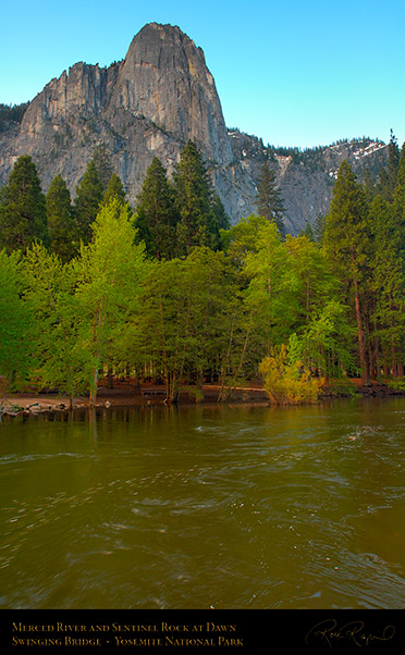 Merced_River_Sentinel_Rock_Dawn_X0345